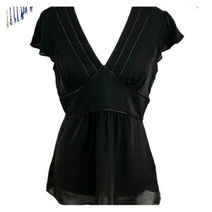 Michael Kors Awesome Black Tunic - Size 8 EUC